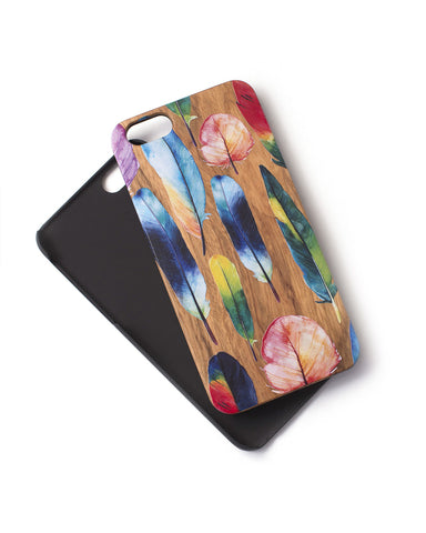 Woodie Case Water Colors (iPhone 6/6S Only)