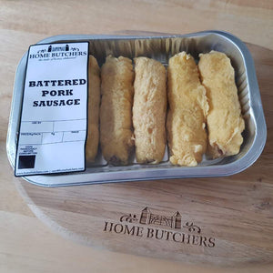 Battered Sausages delivered