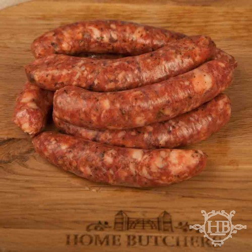 Black Pepper and Mustard Beef Sausages