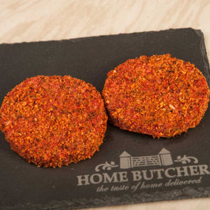 Peppered Beef Steak Burgers