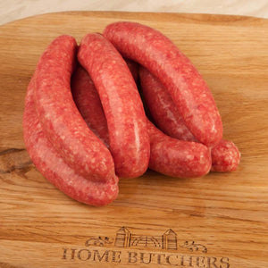 Traditional Beef Steak Sausages