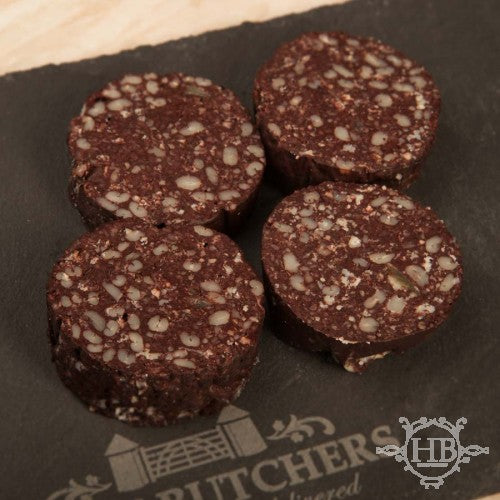 Traditional Black Pudding - Sliced