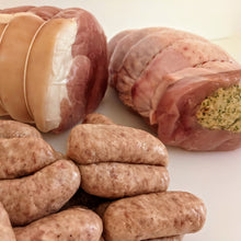 Load image into Gallery viewer, Turkey, Ham and Cocktail Sausages for Christmas