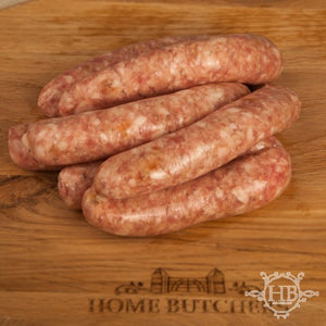 Pork and Onion Sausages