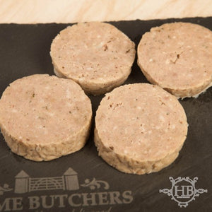 Traditional White Pudding - Sliced