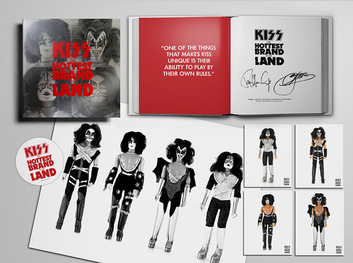 KISS: The Hottest Brand In The Land: Ultra Deluxe Autographed Edition
