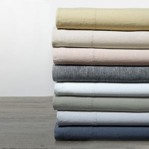 Coyuchi Organic Relaxed Linen Pillowcase Set