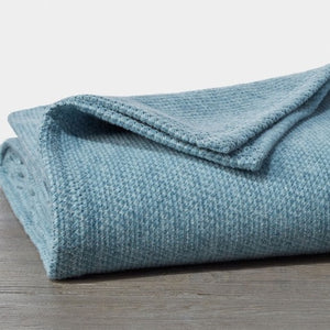 Coyuchi Sequoia Washable Organic Cotton & Wool Blanket