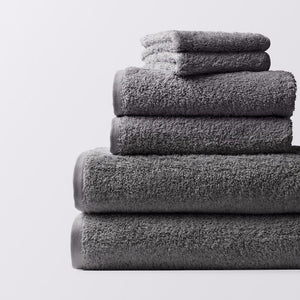 Coyuchi Cloud Loom Organic 6 Piece Towel Set