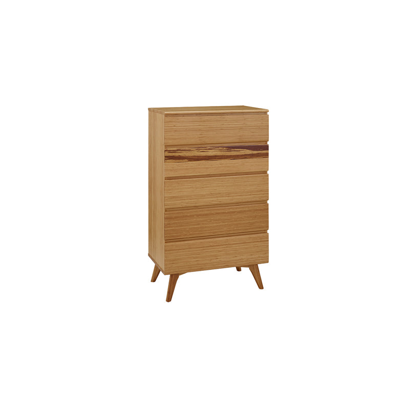 Greenington Azara 5-Drawer Chest, Caramelized