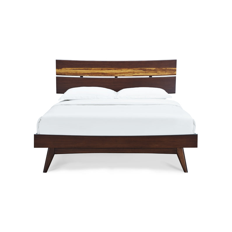 Greenington Azara Queen Platform Bed, Sable