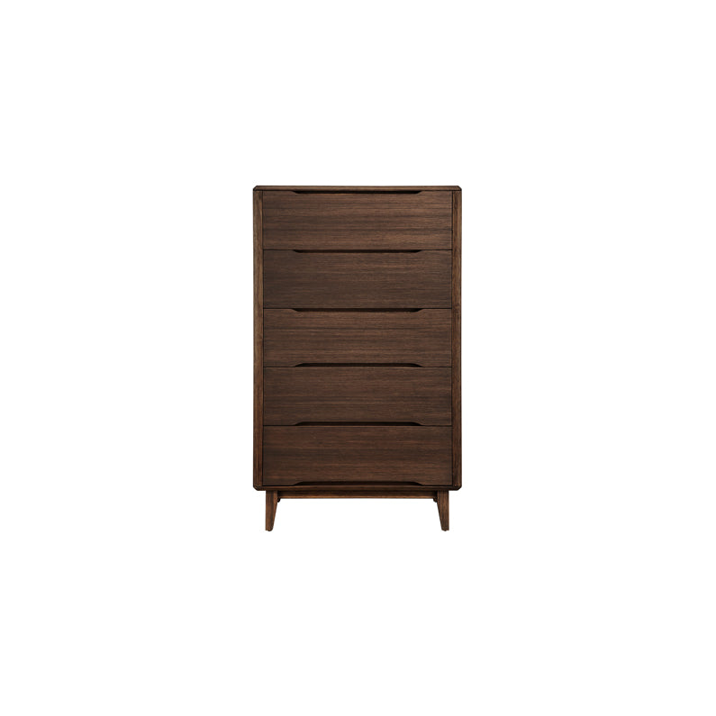 Greenington Currant 5-Drawer Chest, Oiled Walnut