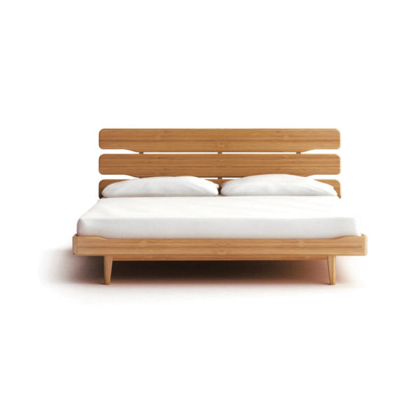Greenington Currant King Platform Bed, Caramelized
