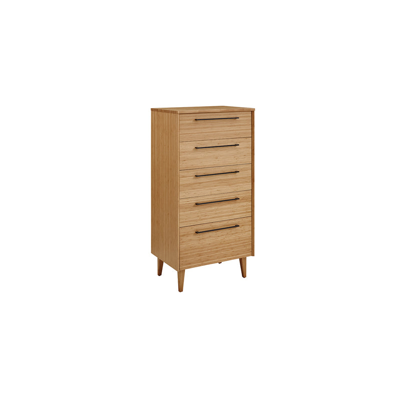 Greenington Sienna 5-Drawer Chest, Caramelized