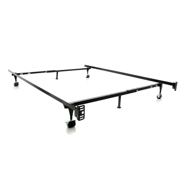 Malouf Adjustable Metal Bed Frame - Twin/Full