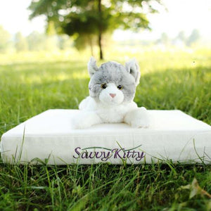 Savvy Rest Organic Pet Bed Kitty