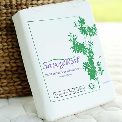 Savvy Rest Organic Sateen Sheets