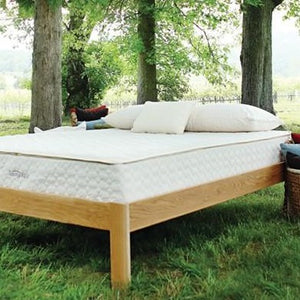 "Savvy Rest Serenity 10"" Natural Serenity Mixed Dunlop & Talalay Mattress (1 Talalay Layer)"