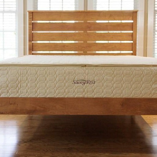 Savvy Rest SerenitySpring Mattress with Dunlop