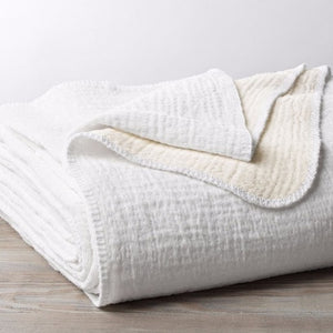 Coyuchi Cozy Cotton Organic Blanket