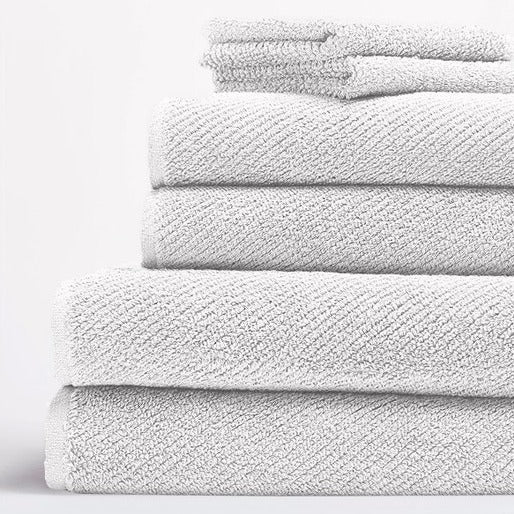 Coyuchi Air Weight Organic 6 Piece Towel Set