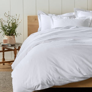 Coyuchi Cloud Brushed Organic Flannel Duvet Cover