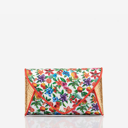 Lily Rose - Fruity Print Clutch