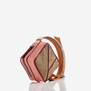 May - Raffia Mini Shoulder Bag