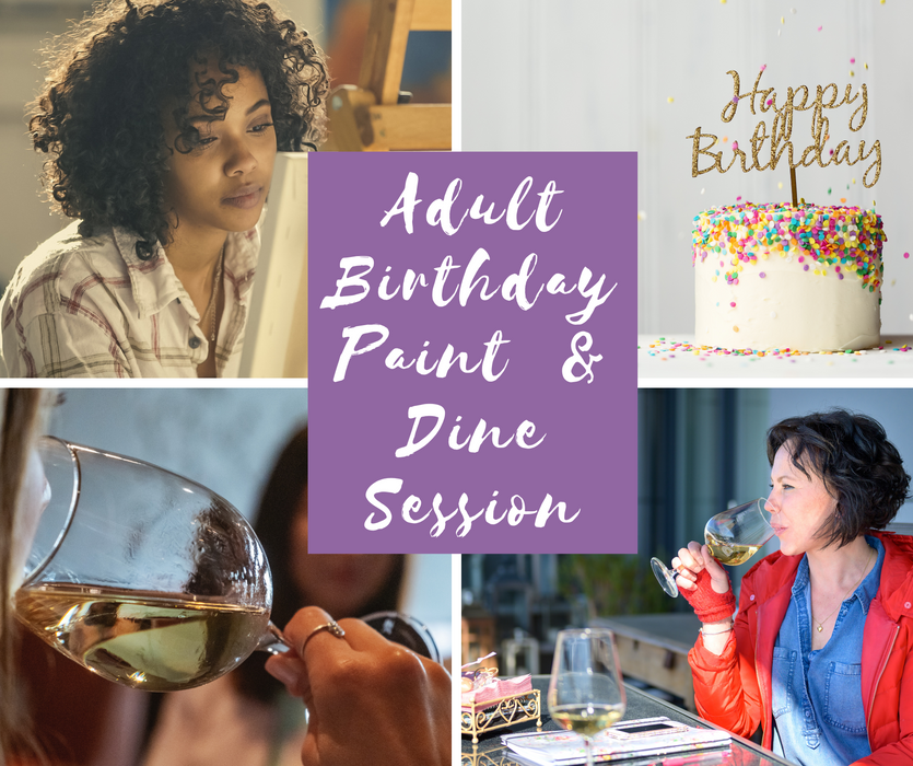 Celebrate your Birthday with a Paint & Dine Session with Nancie Lane