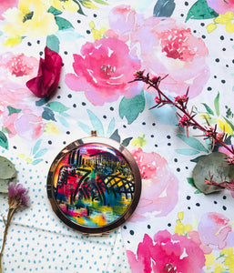 Morning Love Compact Mirror