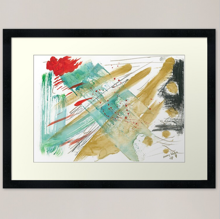 Breaking Forth Art Print - Nancie Lane