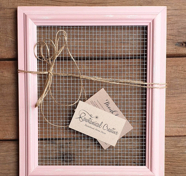 Handmade Wooden Jewellery Frames - Large