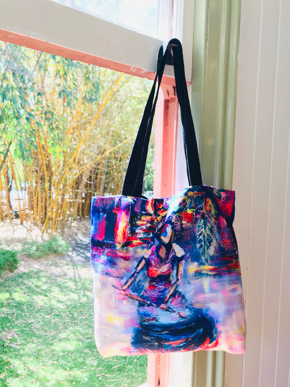 Sunset Feast All Over Print Tote Bag