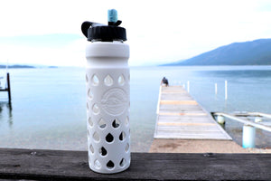The Escape 2020 | Glass Water Bottle