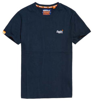 Superdry Orange Label Vintage Embroidery Tee - Eclipse Navy