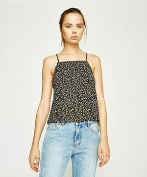 Insight Interrupted Cami - Dark Floral