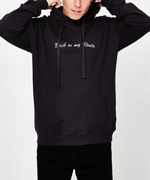 Insight Back To My Roots Hoodie - Black