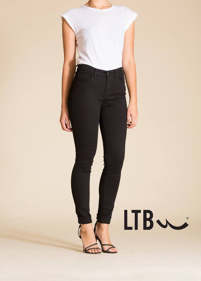 LTB Tanya B High Rise Skinny - Black