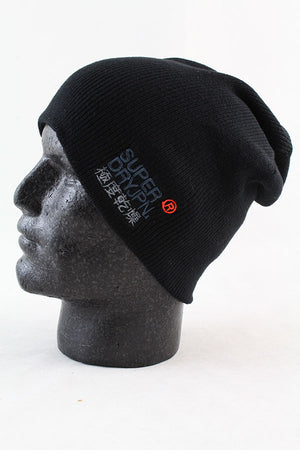 Superdry Windhiker Beanie - Black