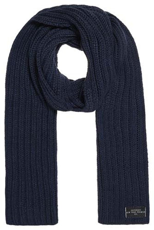 Superdry Aries Sparkle Scarf - Navy