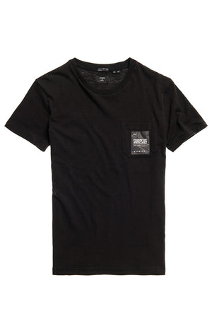 Superdry Surplus Goods Pocket Tee - Black