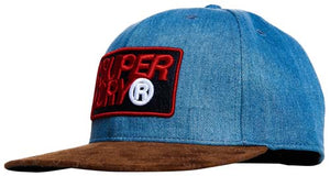 Superdry B Boy AOP Cap - Denim