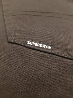 Superdry Slim Tyler Jeans - Jet Black