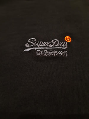 Superdry Orange Label Vintage Embroidery Tee - New Black