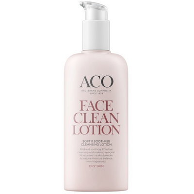 ACO Face Soft & Soothing Cleansing Lotion -puhdistusemulsio