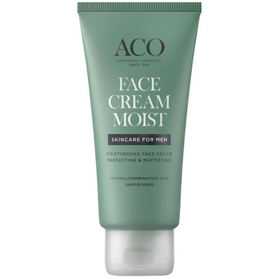ACO For Men Face Cream Moist -kasvovoide