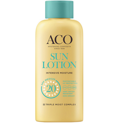 ACO Sun Body Lotion SPF20 -aurinkovoide