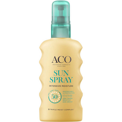 ACO Sun Body Spray SPF50+ -aurinkosuojaspray
