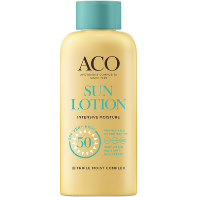 ACO Sun Body Lotion SPF50+ -aurinkovoide