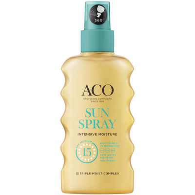 ACO Sun Body Spray SPF15 -aurinkosuojaspray